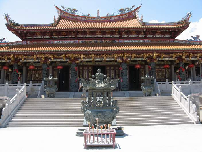 The Tin Hau Temple.